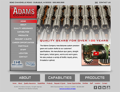 The Adams Company - Dubuque, IA