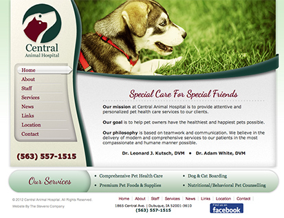Central Animal Hospital - Dubuque, IA