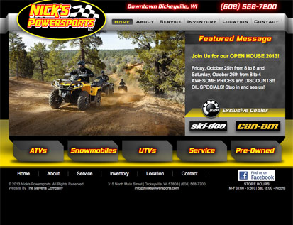 Nicks Power Sports - Dickeyville, WI