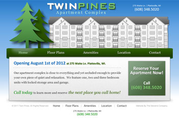 Twin Pines Apartment Complex - Platteville, WI
