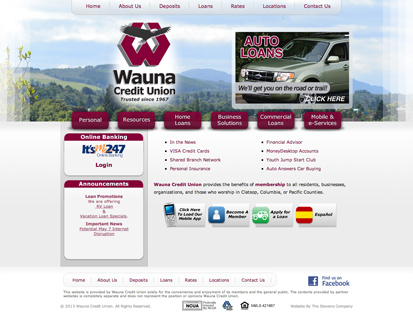 Wauna Credit Union – Clatskanie, OR