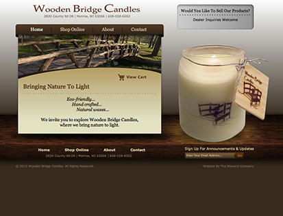 Wooden Bridge Candles - Monroe, WI