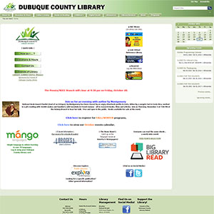 Dubuque County Library - Before