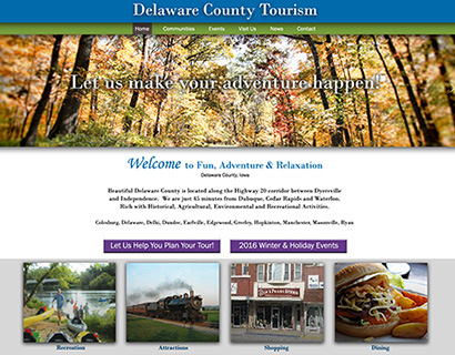 Delaware County IA Tourism - Manchester, IA