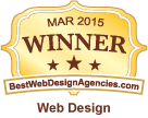 March 2015 Winner for Best Web Design
