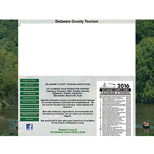 Delaware County Tourism - Before