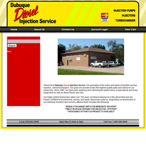 Dubuque Diesel Injection Services - Before