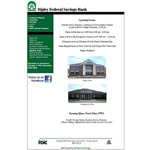 Ripley Federal Savings Bank - Before