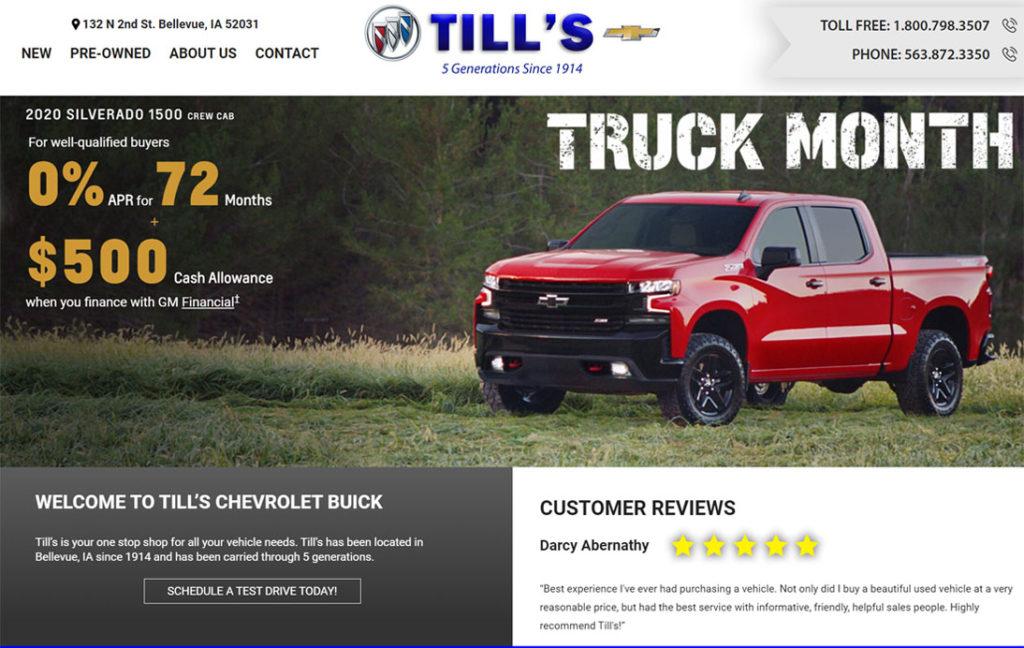Tills Auto - Bellevue, Iowa