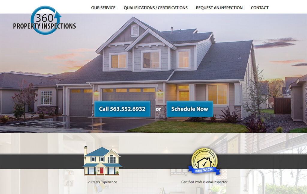 360 Property Inspections - Dubuque, Iowa
