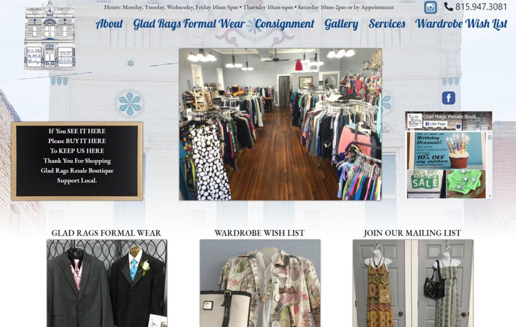 Glad Rags Boutique - Stockton, Illinois